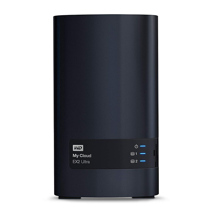 photo du serveur nas WD My Cloud EX2 Ultra