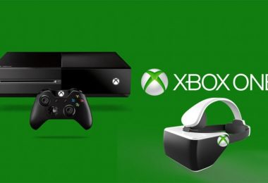 photo illustrant un casque de réalité virtuelle pour la console xbox one