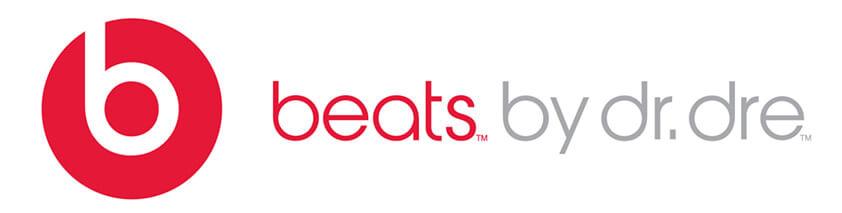 photo du logo de la marque d'écouteurs et de casques audio beats by dre
