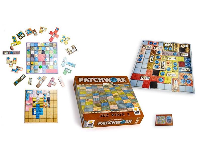 jeu de société Patchwork