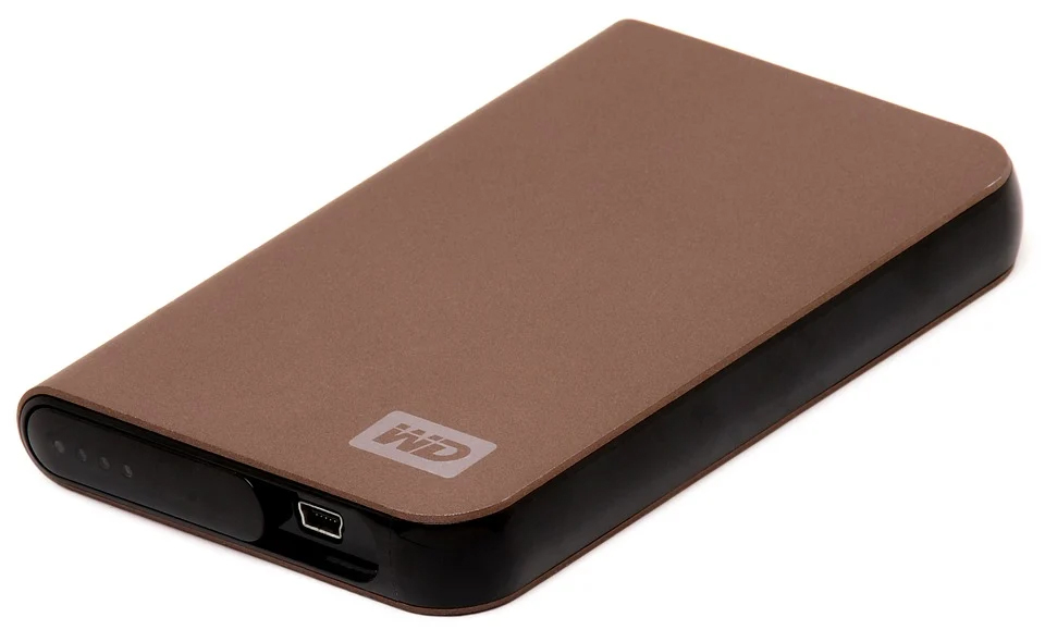 photo d'un disque dur externe usb