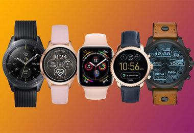 photo de montres connectées